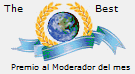 Mejor moderador del mes  